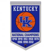 Kentucky UK Wildcats College Basketball National Champions Banner