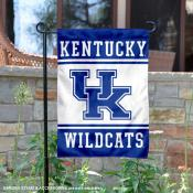 Kentucky UK Wildcats Garden Flag