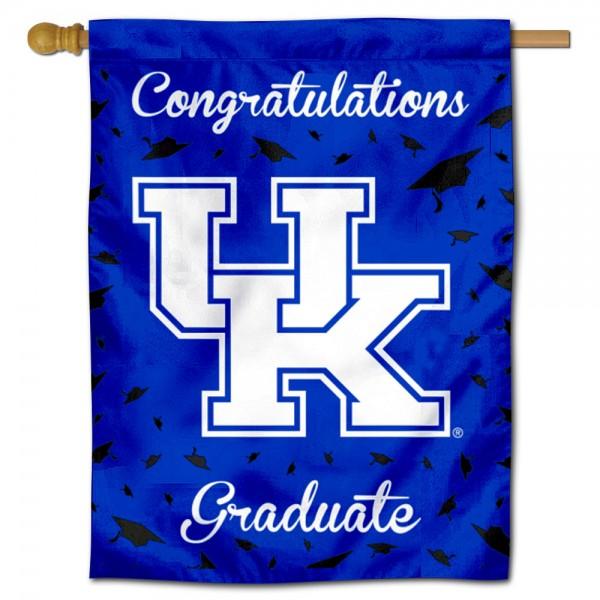 Kentucky UK Wildcats Graduation Banner