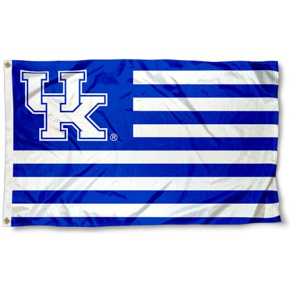 Kentucky UK Wildcats Nation Flag