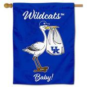 Kentucky UK Wildcats New Baby Banner