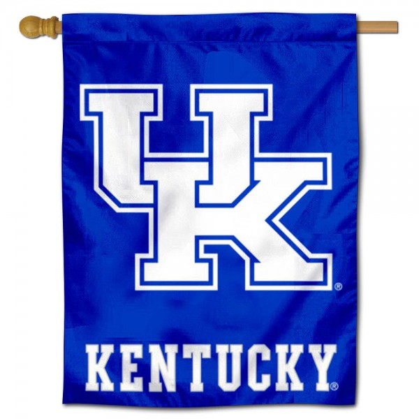 Kentucky UK Wildcats New Logo House Flag
