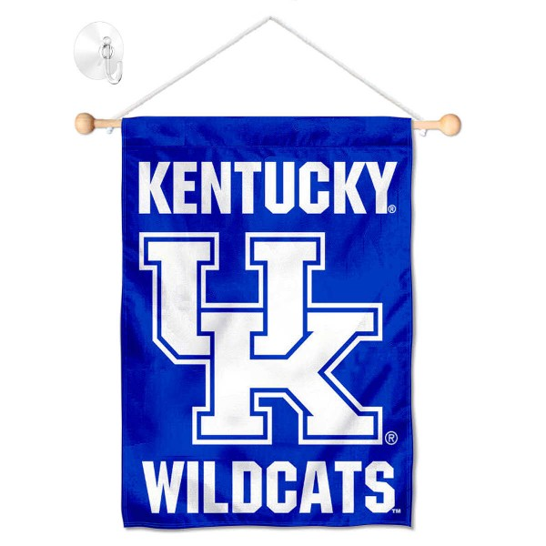 Kentucky UK Wildcats Small Wall and Window Banner