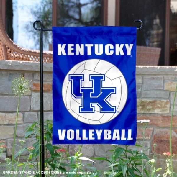 Kentucky UK Wildcats Volleyball Garden Flag