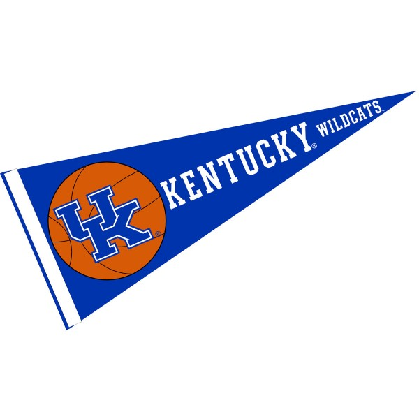 Kentucky Wildcats Basketball Pennant