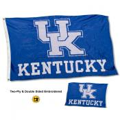 Kentucky Wildcats Double Sided Flag