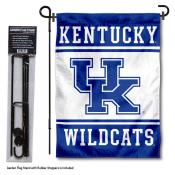 Kentucky Wildcats Garden Flag and Holder