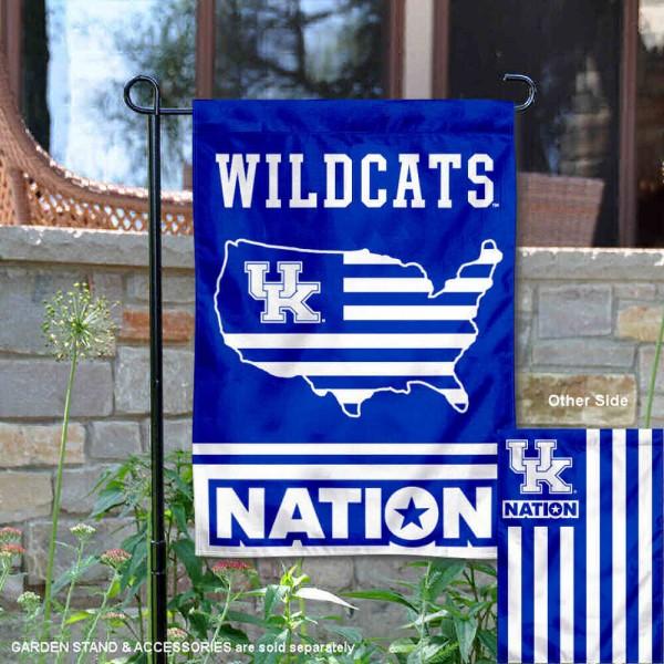 Kentucky Wildcats Nation Garden Flag