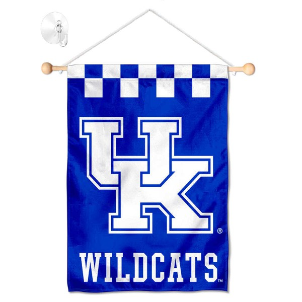 Kentucky Wildcats Small Wall and Window Banner
