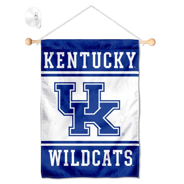 Kentucky Wildcats Window Hanging Banner with Suction Cup