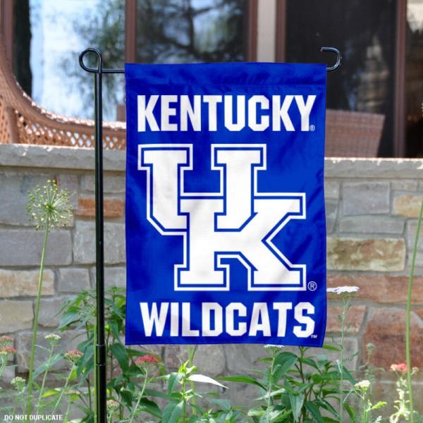 Kentucky Wildcats Wordmark Garden Banner