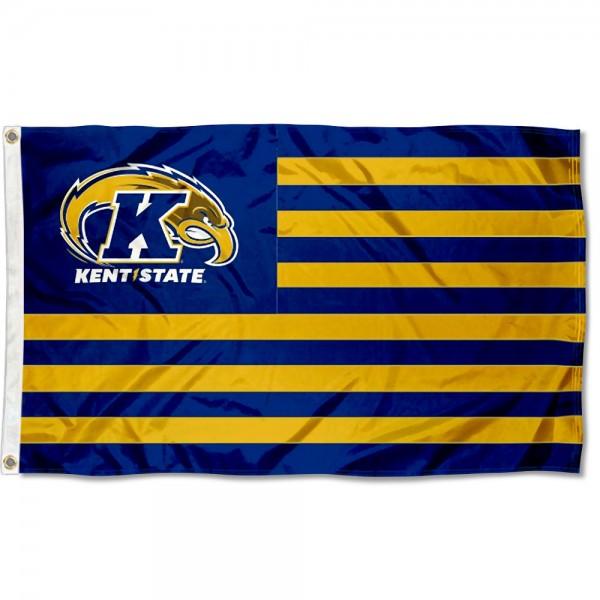 KSU Golden Flashes American USA Nation Flag