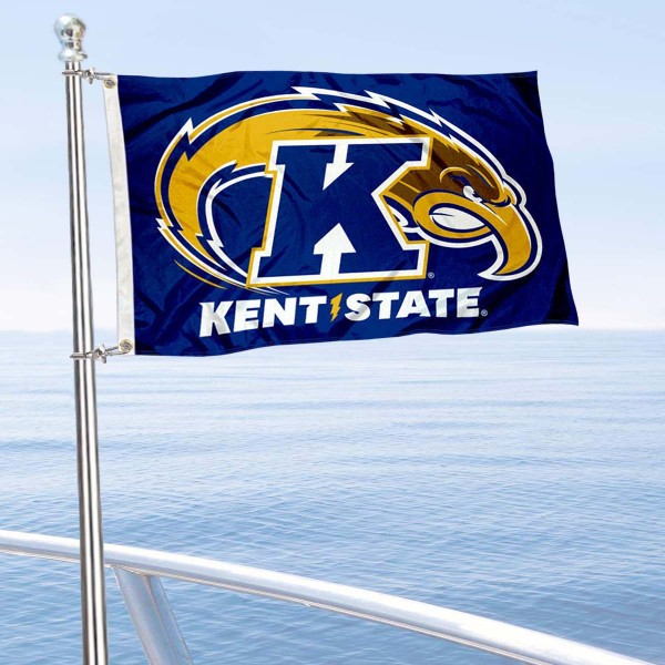 KSU Golden Flashes Boat Nautical Flag
