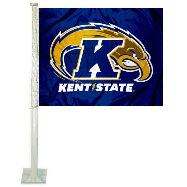 KSU Golden Flashes Car Flag