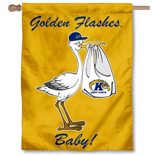 KSU Golden Flashes New Baby Banner
