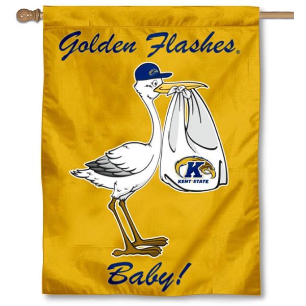 KSU Golden Flashes New Baby Banner