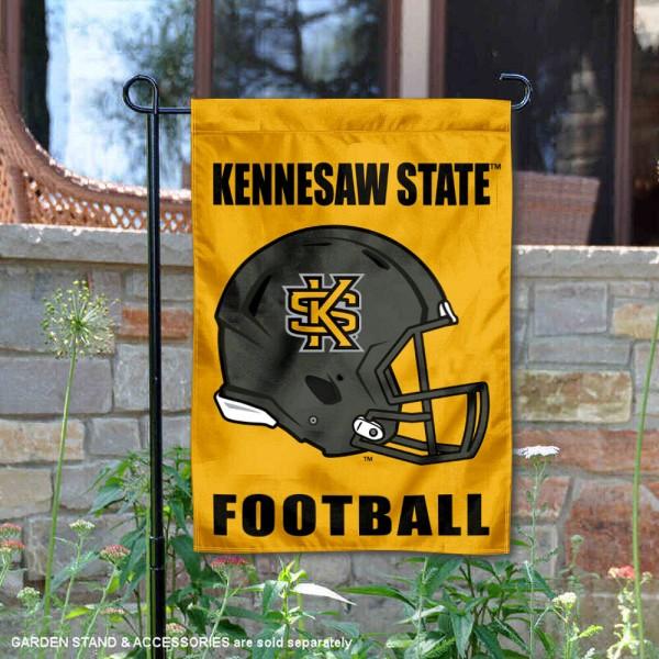 KSU Owls Football Garden Flag