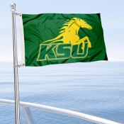 KSU Thorobreds Boat Nautical Flag
