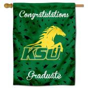 KSU Thorobreds Graduation Banner