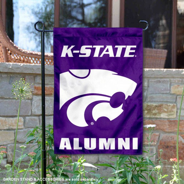 Kansas State Wildcats Banner with Hanging Pole College Flags and Banners Co