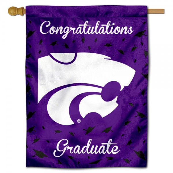 KSU Wildcats Graduation Banner