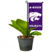 KSU Wildcats Mini Garden Flag and Table Topper