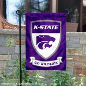 KSU Wildcats Shield Garden Flag