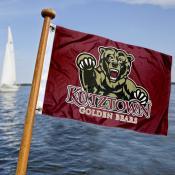 KU Bears Boat Nautical Flag