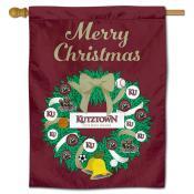 Kutztown Bears Christmas Holiday House Flag