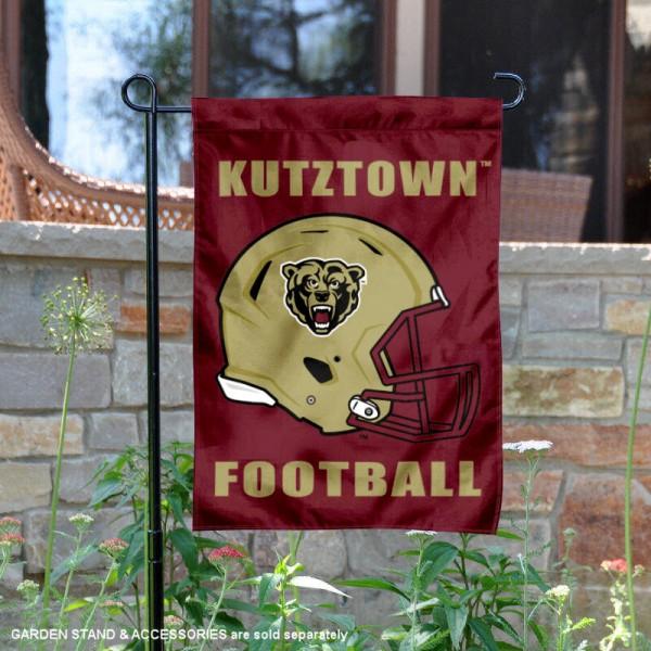 Kutztown Bears Football Garden Flag