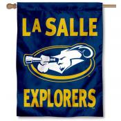 La Salle Explorers Double Sided House Flag