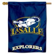 La Salle Explorers Flag House Flag