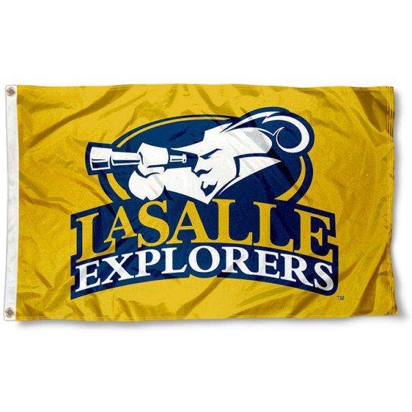 La Salle Explorers Gold Flag