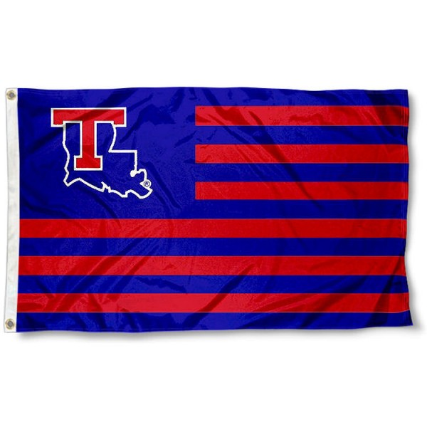 La Tech Bulldog Nation Flag