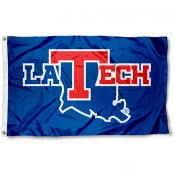 LA Tech Bulldogs Flag