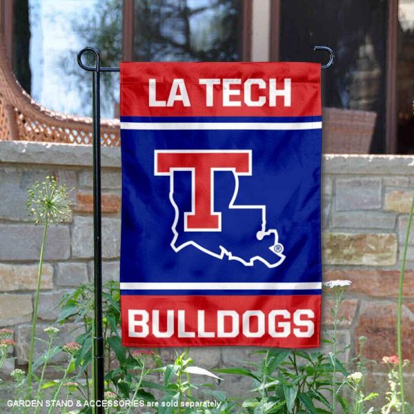 La Tech Bulldogs Garden Flag