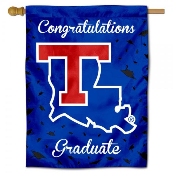 La Tech Bulldogs Graduation Banner