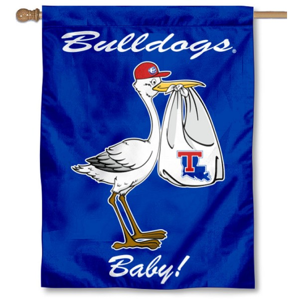La Tech Bulldogs New Baby Banner