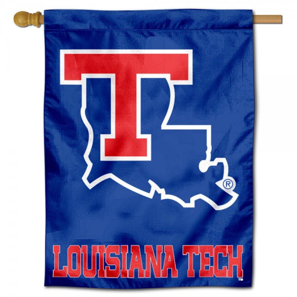 La Tech Polyester House Flag