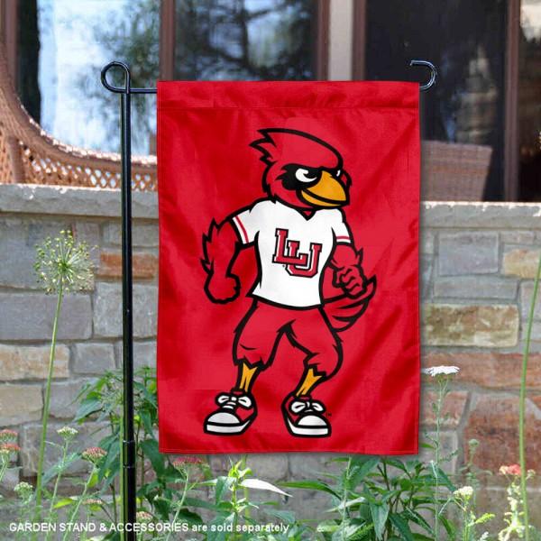 Lamar Cardinals Mascot Big Red Garden Flag