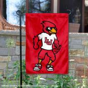 Lamar Cardinals Mascot Big Red Garden Flag