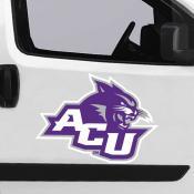 Large Jumbo Logo Car Magnet for Abilene Christian University Wildcats