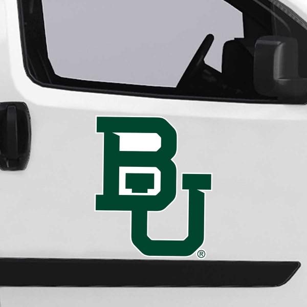 Large Jumbo Logo Car Magnet for Baylor University Bears