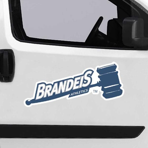 Large Jumbo Logo Car Magnet for Brandeis University Judges