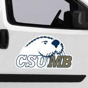 Large Jumbo Logo Car Magnet for Cal State University, Monterey Bay Otters