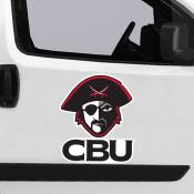 Large Jumbo Logo Car Magnet for Christian Brothers University Buccaneers