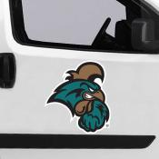 Large Jumbo Logo Car Magnet for Coastal Carolina University Chanticleers