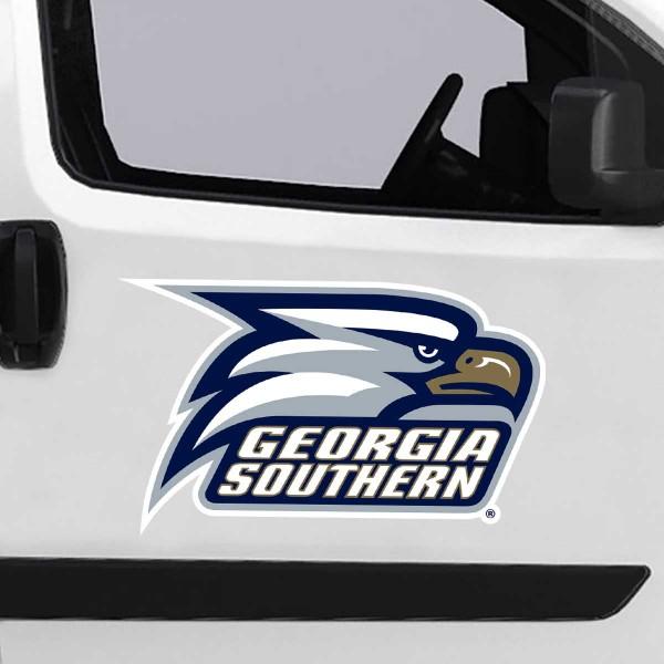 Large Jumbo Logo Car Magnet for Georgia Southern University Eagles
