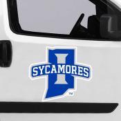 Large Jumbo Logo Car Magnet for Indiana State University Sycamores