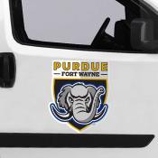 Large Jumbo Logo Car Magnet for Indiana University-Purdue University Fort Wayne Mastodons